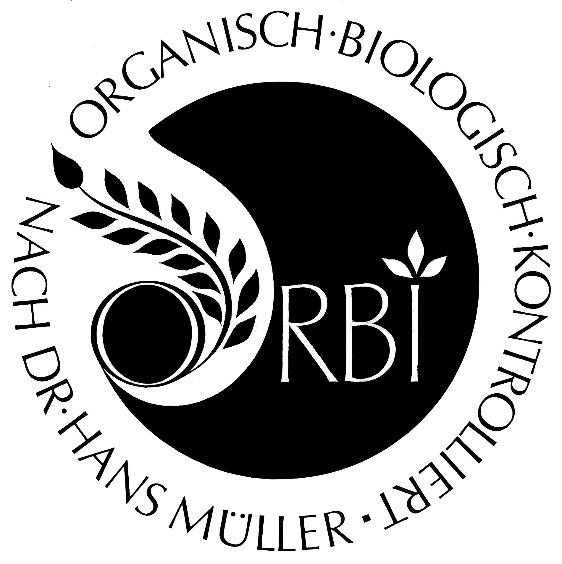Orbi Logo Schwarz-Weiß